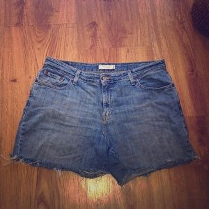 Women's Levi's Red Label Cut Off Shorts